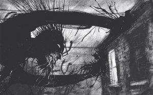 """Fra bogen """"Monster"""" af Patrick Ness."""